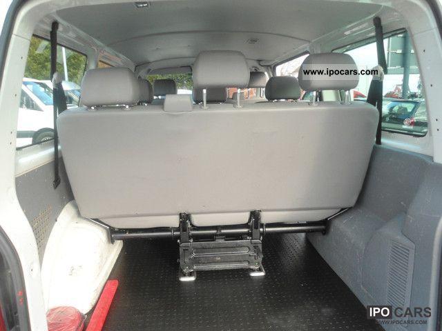 2007 Volkswagen Transporter T5 9 Seater Bulli Dpf Air