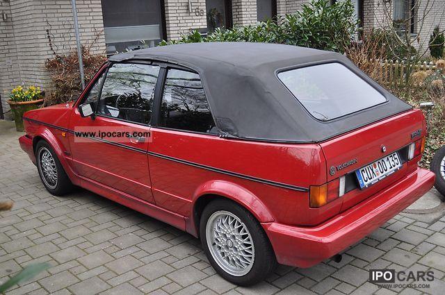 1992 Volkswagen Golf Cabriolet Cabrio Roadster