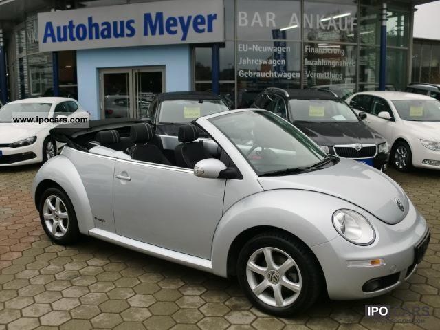 2010 Volkswagen New Beetle Convertible Freestyle Cabrio Roadster