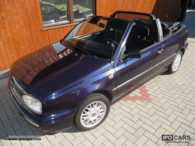 1996 volkswagen golf cabrio 1 8 rolling stones collection car photo and specs. Black Bedroom Furniture Sets. Home Design Ideas
