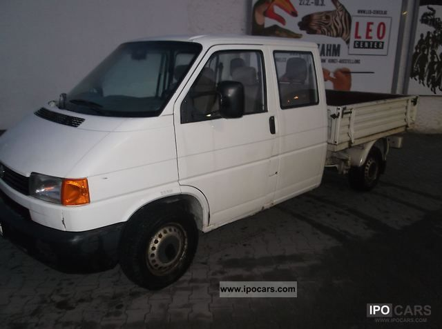 Volkswagen Transporter T Tdi Doka Lgw