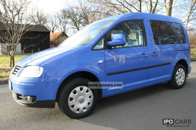 Volkswagen  Caddy EcoFuel 2.0 Life 2006 Compressed Natural Gas Cars (CNG, methane, CH4) photo
