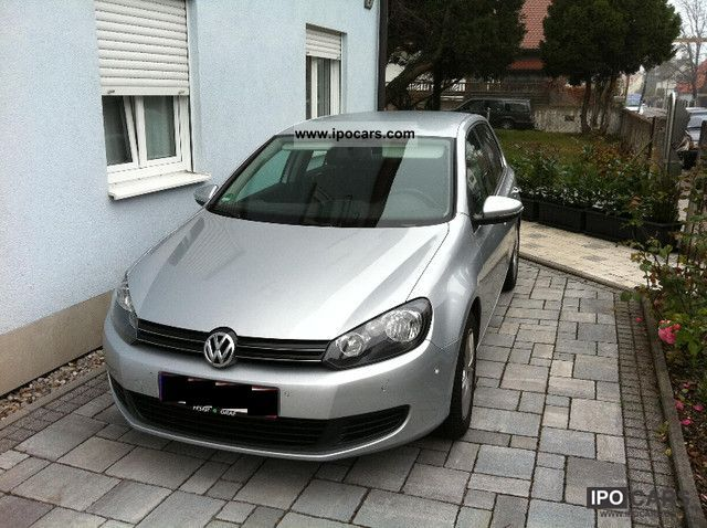 2009 Volkswagen  Golf 1.6 TDI Comfortline. PARK ASSIST Limousine Used vehicle photo