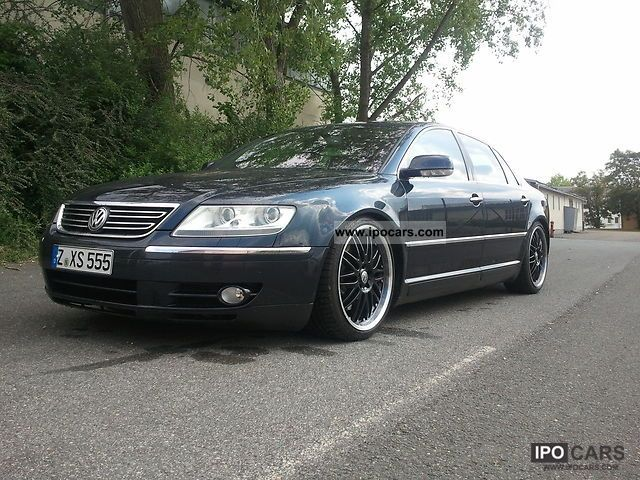 2004 Volkswagen Phaeton 4.2 V8 4MOTION LWB 4 seater - Car Photo and ...