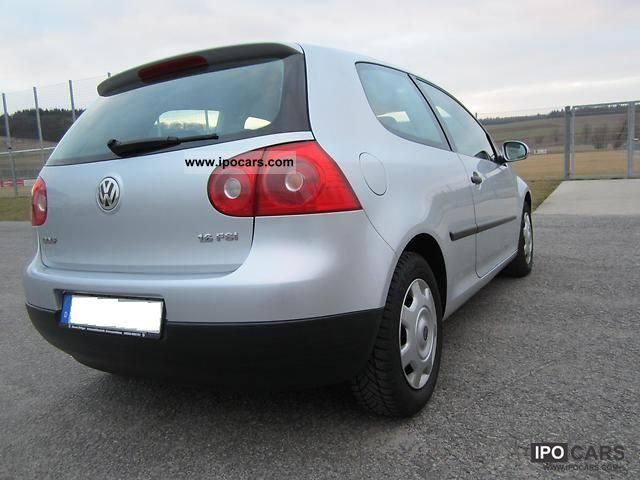 2005 volkswagen golf 1 6 fsi car photo and specs. Black Bedroom Furniture Sets. Home Design Ideas