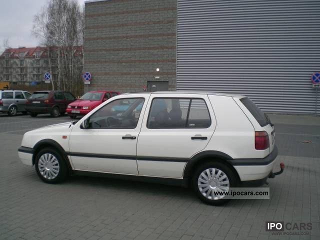 1993 volkswagen golf 1 9 turbo diesel 4 5 drzwi car photo and specs. Black Bedroom Furniture Sets. Home Design Ideas