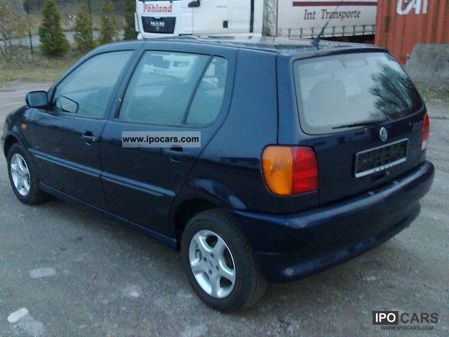 1998 volkswagen polo 1 4 60 servo abs el fh zv alu 4 door car photo and specs. Black Bedroom Furniture Sets. Home Design Ideas
