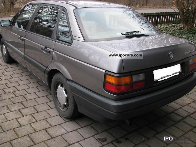 Фольксваген пассат 1991 фото