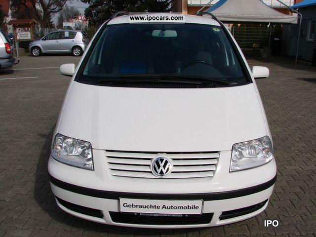 2004 volkswagen sharan 1 9 tdi cruise car photo and specs. Black Bedroom Furniture Sets. Home Design Ideas