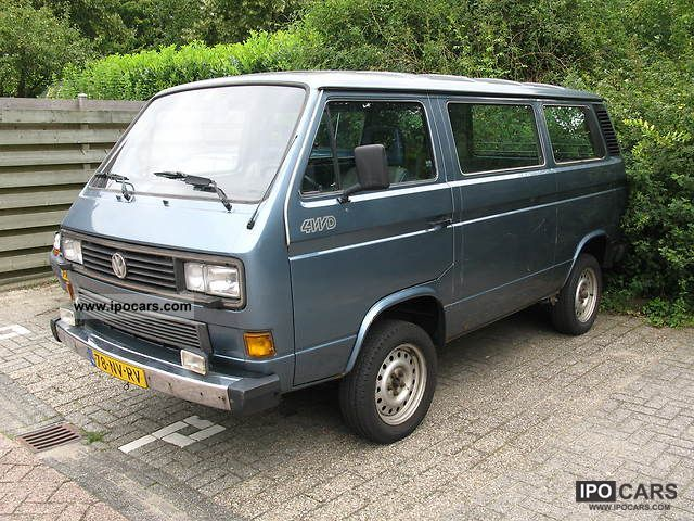 1991 Volkswagen Caravelle Gl Syncro 255 299 Car Photo