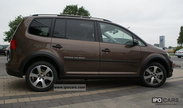 2012 Volkswagen Cross Touran 2 0 Tdi Panoramic Roof