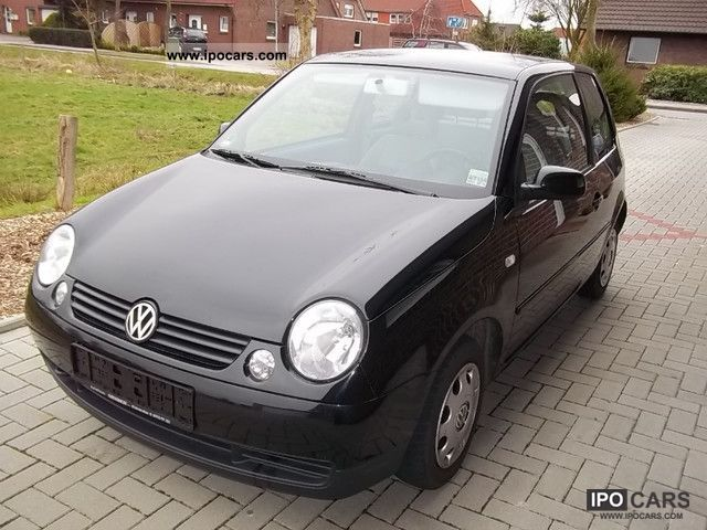 2001 volkswagen lupo 1 0 college car photo and specs. Black Bedroom Furniture Sets. Home Design Ideas