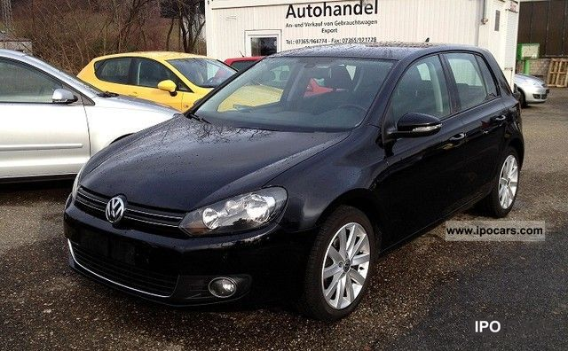 Golf Highline 2010 2010 Volkswagen Golf 1.6 Tdi