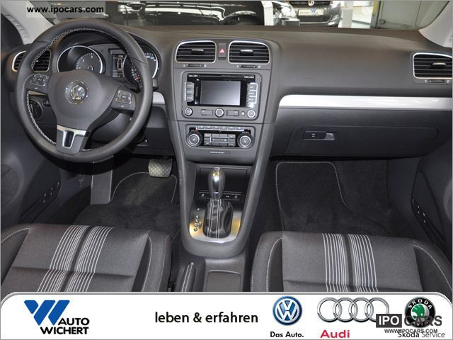 2012 Volkswagen Golf 2 0 Tdi Match Dsg Car Photo And Specs