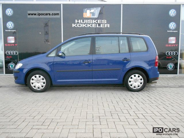 Volkswagen  Touran EcoFuel 2.0 Optive 2007 Compressed Natural Gas Cars (CNG, methane, CH4) photo