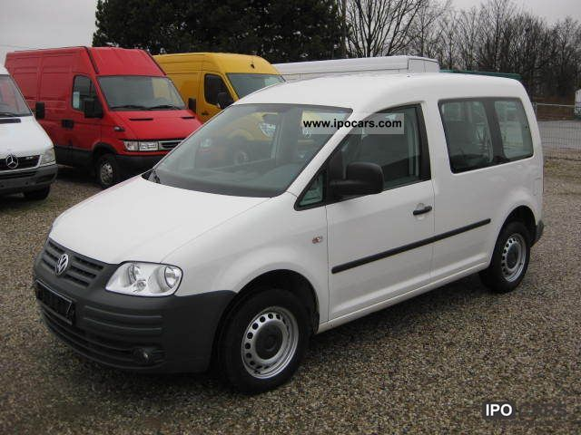 2007 volkswagen caddy 1 9 tdi climate car photo and specs. Black Bedroom Furniture Sets. Home Design Ideas