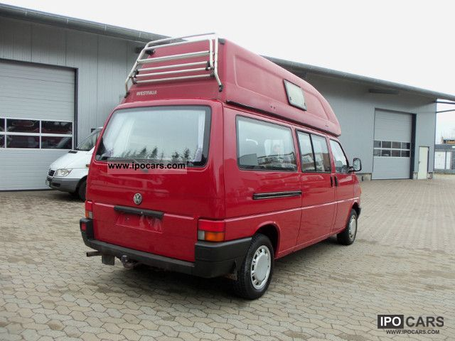 1993 volkswagen t4 westfalia california club atlantic car photo and specs. Black Bedroom Furniture Sets. Home Design Ideas
