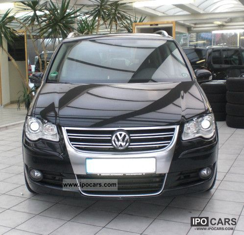 2009 volkswagen touran car photo and specs. Black Bedroom Furniture Sets. Home Design Ideas