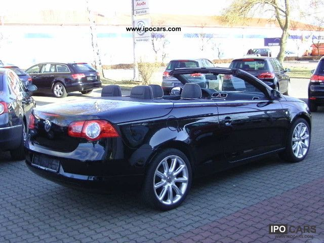2008 volkswagen eos 2 0 fsi individual chrome car photo and specs. Black Bedroom Furniture Sets. Home Design Ideas