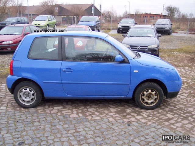 2002 volkswagen lupo 1 0 euro 4 norm car photo and specs. Black Bedroom Furniture Sets. Home Design Ideas