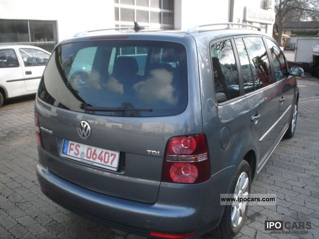 2007 volkswagen touran 1 9 tdi highline car photo and specs. Black Bedroom Furniture Sets. Home Design Ideas