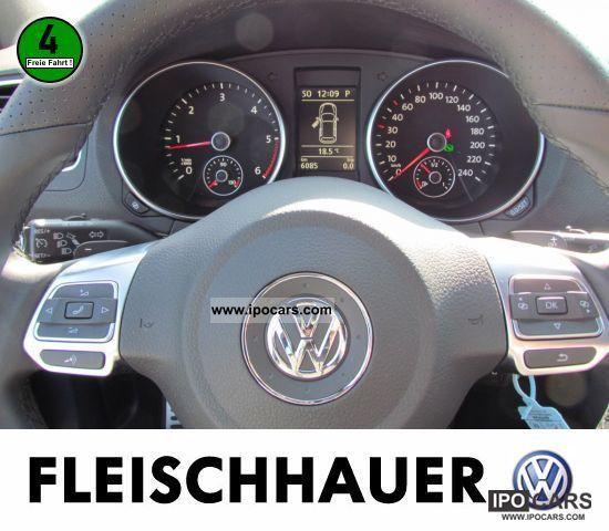 Volkswagen Golf Hatchback 2 0 Tsi R 5dr Dsg Nav: 2010 Volkswagen Golf VI 2.0 TDI R Line AIR NAVI Plus