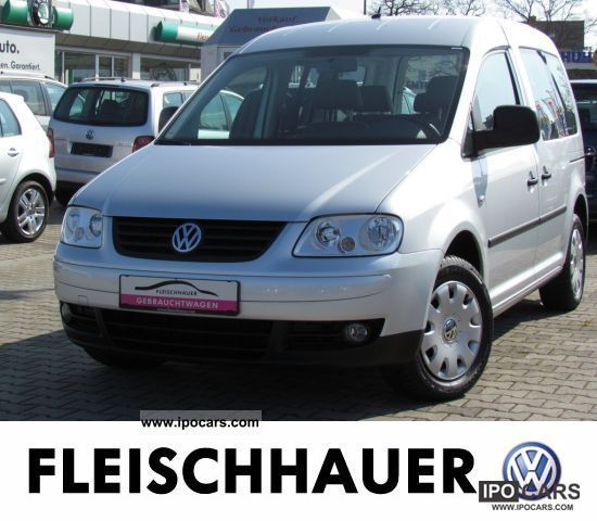 Volkswagen  Caddy Life EcoFuel 2.0 AIR NAVIGATION 2009 Compressed Natural Gas Cars (CNG, methane, CH4) photo