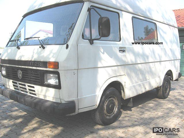 1991 Volkswagen LT 28 Maxi 130,000 km AHK  Car Photo and