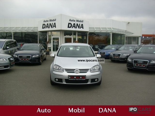 2009 Volkswagen  Golf 1.9 TDI Edition / NAVI / aluminum / air conditioning Limousine Used vehicle photo