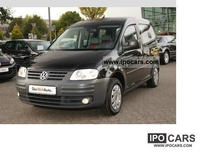 Volkswagen  Caddy EcoFuel 2.0 (5-Si). \ 2011 Compressed Natural Gas Cars (CNG, methane, CH4) photo