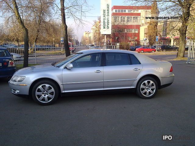 2004 Volkswagen Phaeton 4.2 V8 4MOTION LWB Automatic - Car Photo and ...