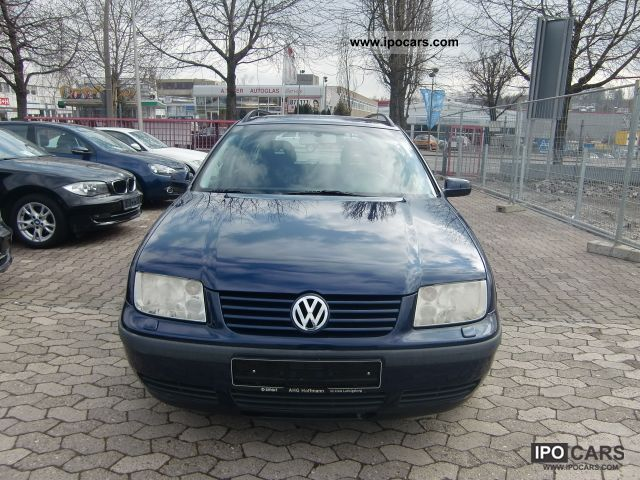 2001 Volkswagen  Bora Variant 1.9 TDI 4Motion Edition \ Estate Car Used vehicle photo