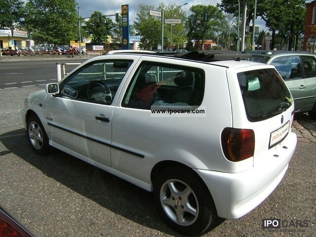 1998 volkswagen polo 1 0 open air elect faltschiebedach car photo and specs. Black Bedroom Furniture Sets. Home Design Ideas