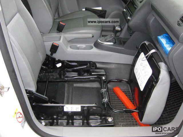 2009 Volkswagen Caddy 1 9 Tdi Dpf Dsg Maxi Kastenwunikat