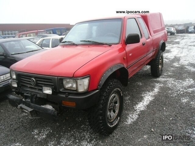 1995 Volkswagen  Taro 4x4 Hardtop Off-road Vehicle/Pickup Truck Used vehicle photo