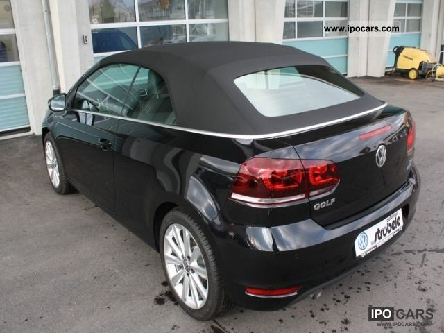 2012 Volkswagen Golf Cabriolet 16 Tdi Bmt Leather Navi Pdc 17 Zol