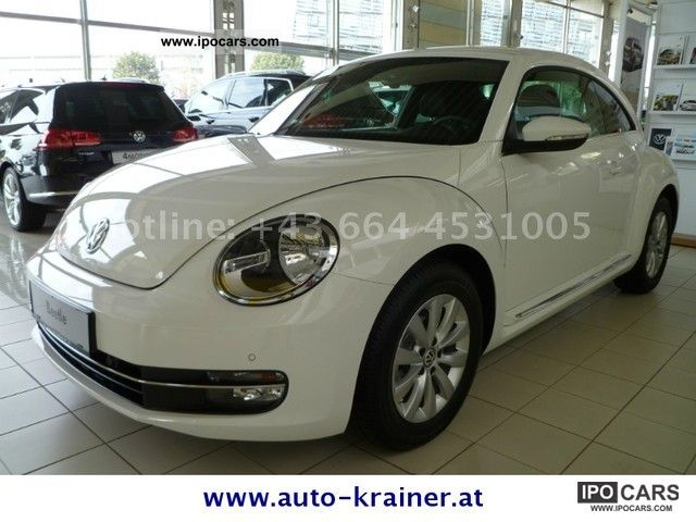 2011 Volkswagen  The 1.6 TDI Beetle Design Sports car/Coupe New vehicle photo