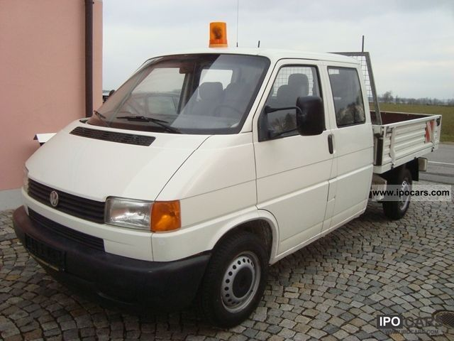 2000 Volkswagen  T4 1.9 TD Doka platform Other Used vehicle photo