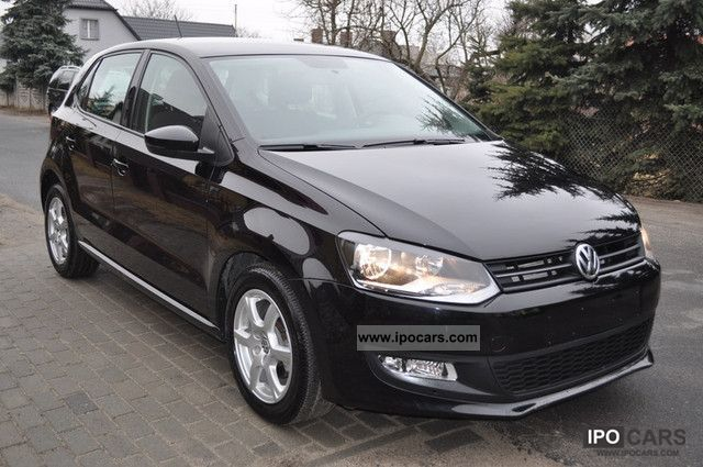 2010 volkswagen polo 1 6 tdi highline climate control car photo and specs. Black Bedroom Furniture Sets. Home Design Ideas