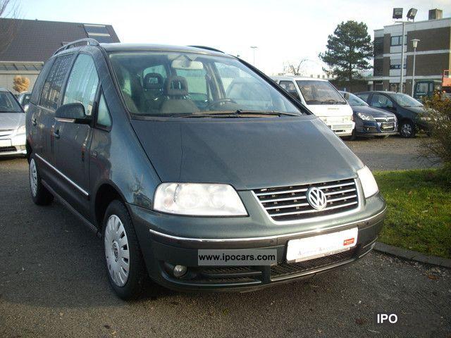 2004 volkswagen sharan 1 9 tdi diesel comfortline car. Black Bedroom Furniture Sets. Home Design Ideas
