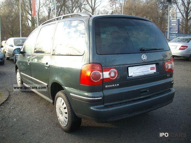 2004 volkswagen sharan 1 9 tdi diesel comfortline car photo and specs. Black Bedroom Furniture Sets. Home Design Ideas