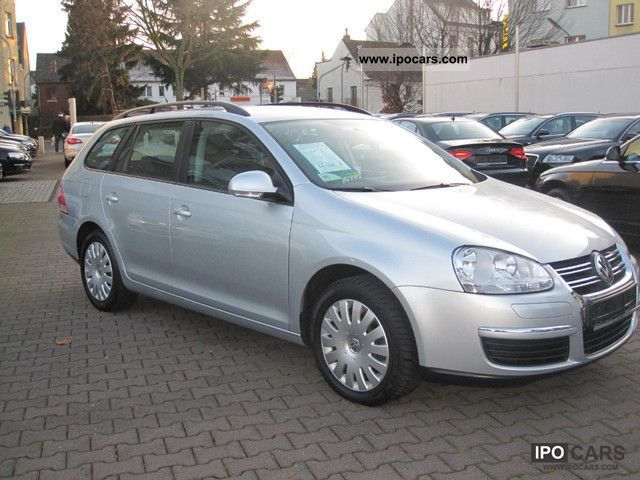 2009 Volkswagen  Golf Variant 1.9 TDI Trendline climate Estate Car Used vehicle photo
