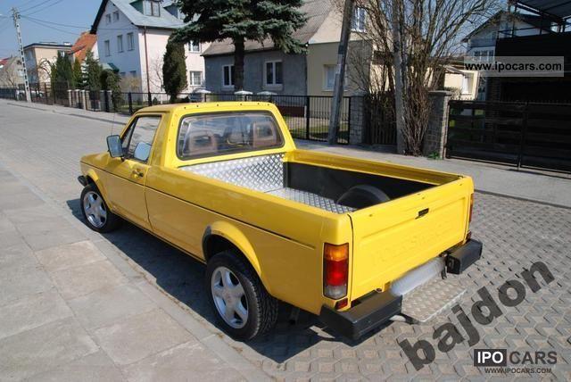 1989 volkswagen mk1 caddy 2 0 16v abf car photo and specs. Black Bedroom Furniture Sets. Home Design Ideas