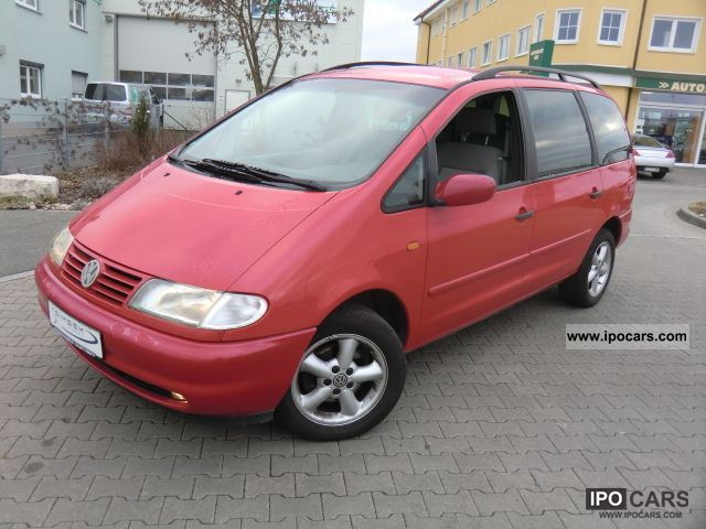 1998 Volkswagen Sharan 2 0 Comfortline 1 Hand 6 Seater Auto Air Car Photo And Specs