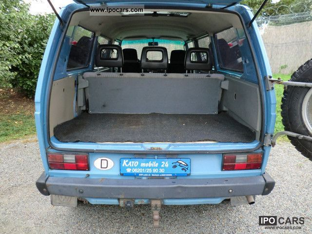 T3 multivan transporter syncro 15 inches 1992 on vw fox engine