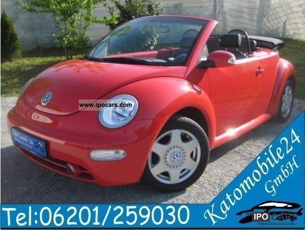 2003 Volkswagen New Beetle Cabriolet 2.0 HIGHLINE XENON - Car Photo and Specs