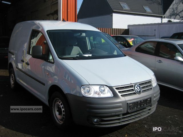 Volkswagen  Caddy 2.0 * Truck registration * Tax * climate * Natural Gas * 2007 Compressed Natural Gas Cars (CNG, methane, CH4) photo