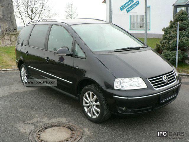 2007 volkswagen sharan 2 0tdi mod08 navi 7sitze klimatik. Black Bedroom Furniture Sets. Home Design Ideas