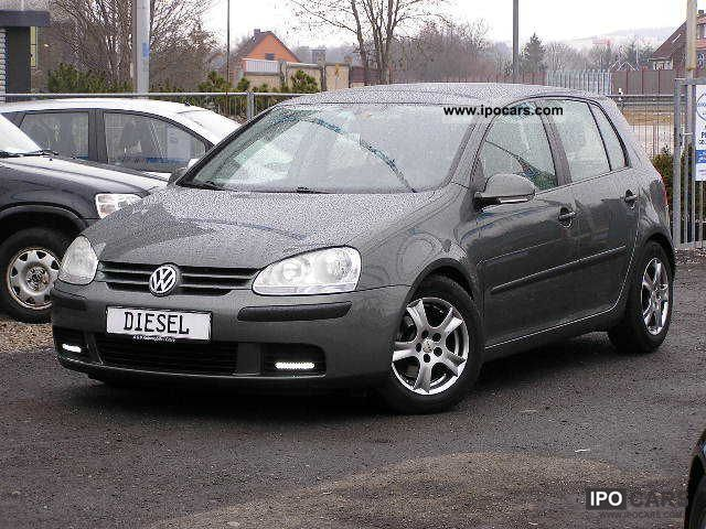 2005 volkswagen golf v 1 9 tdi climate full service car photo and specs. Black Bedroom Furniture Sets. Home Design Ideas