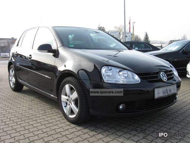2008 Volkswagen  1.9 TDI United PDC 7-speed DSG automatic climate control Limousine Used vehicle photo